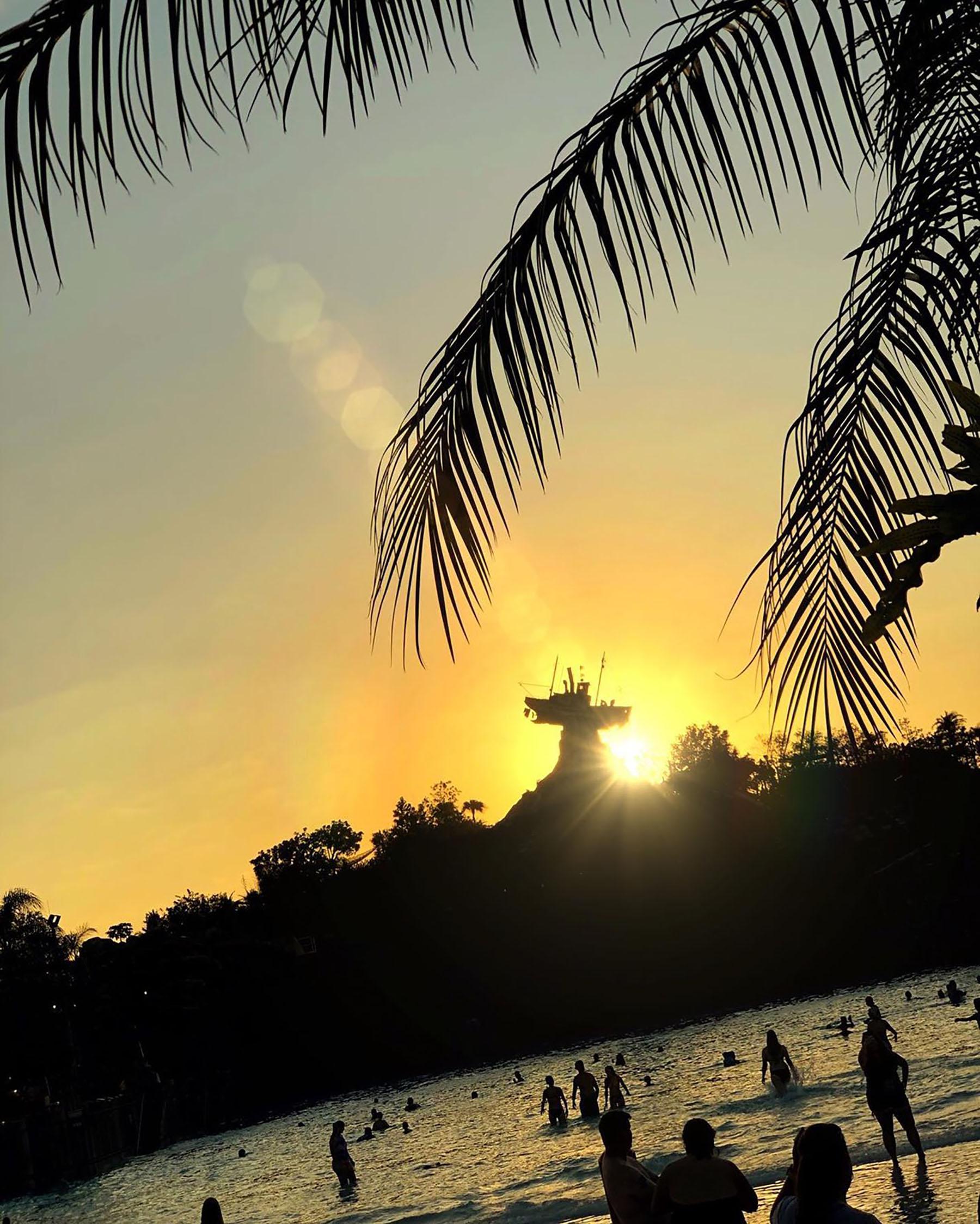 Sunset at Typhoon Lagoon