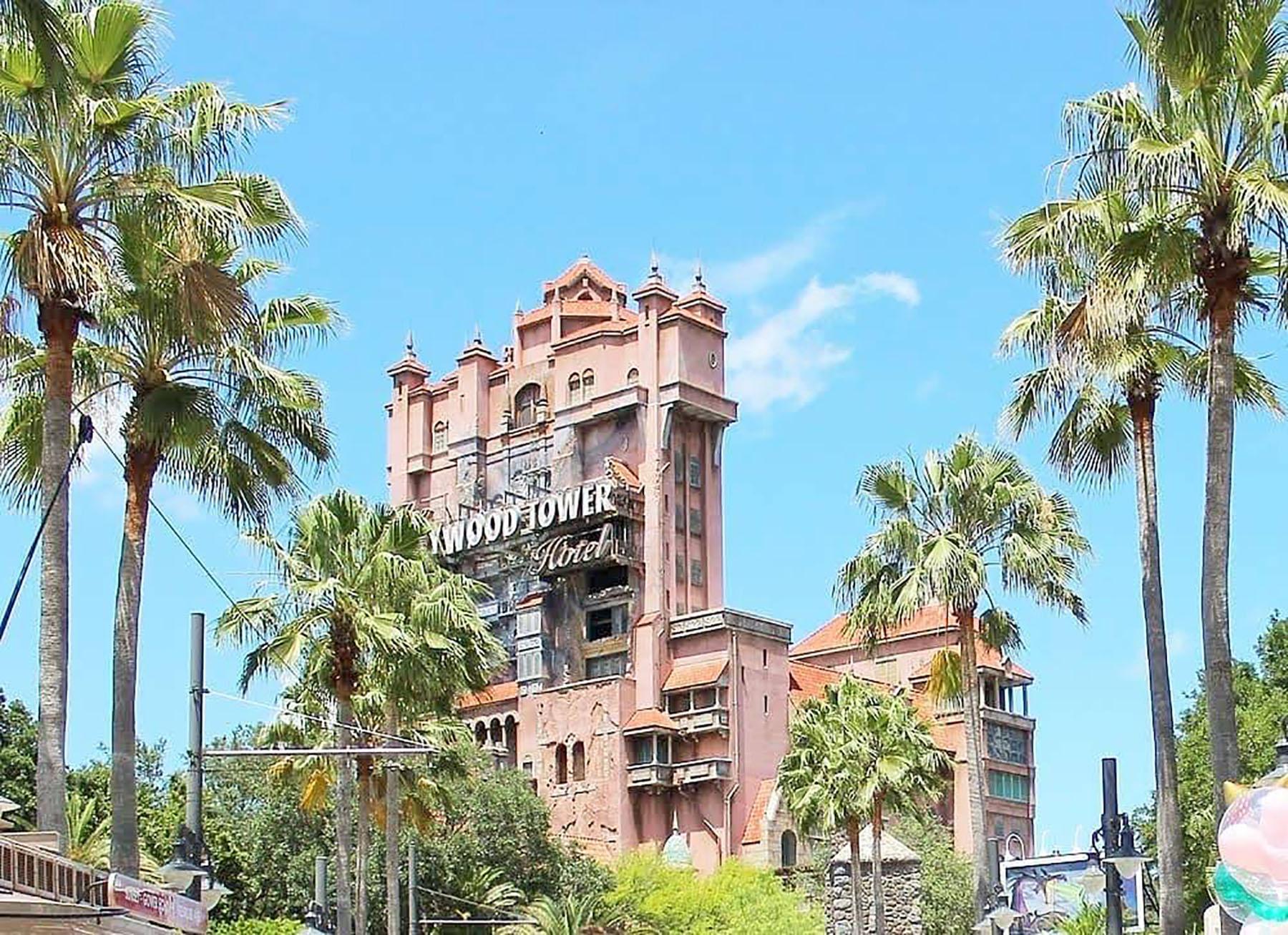 The Twilight Zone Tower of Terror in Disney Hollywood Studios