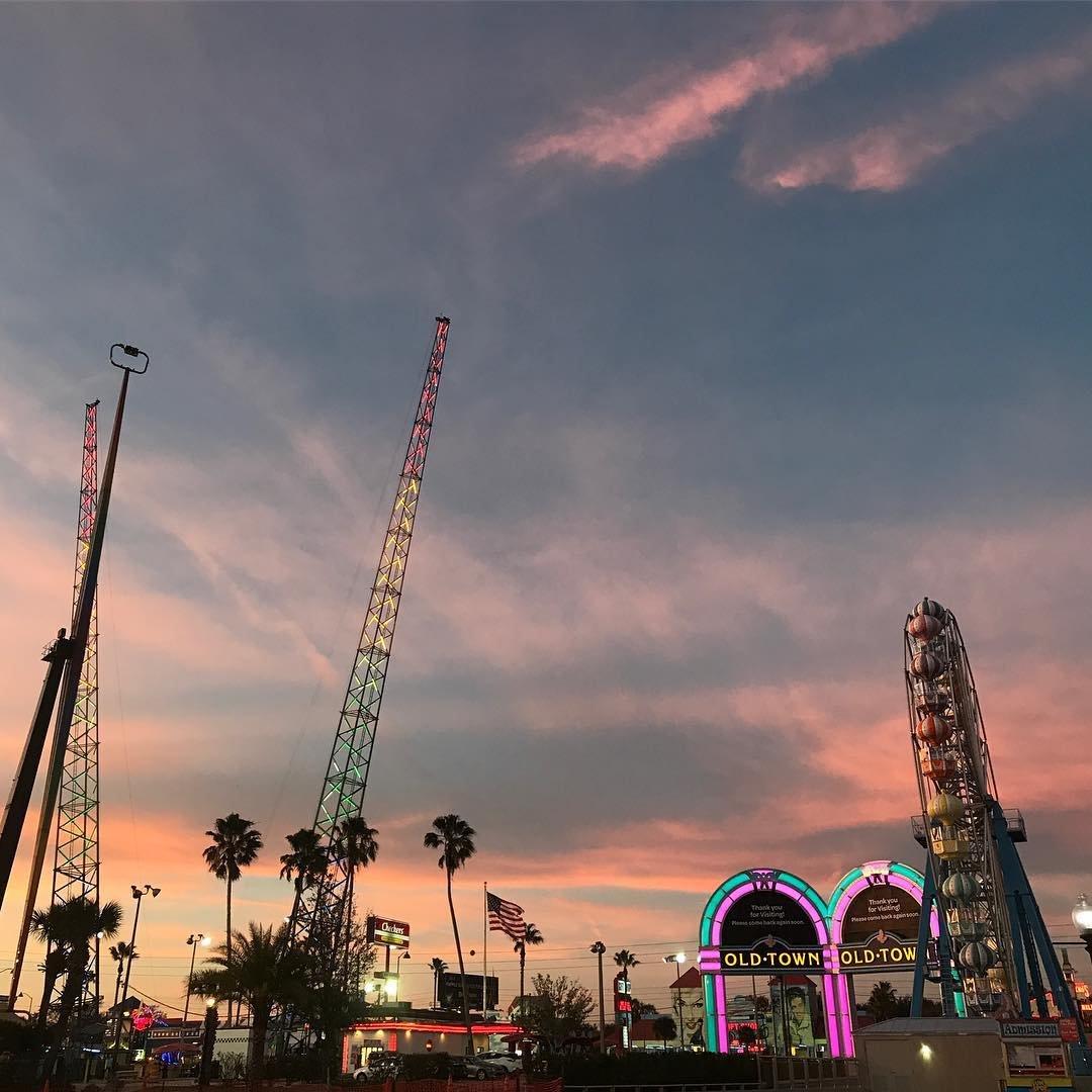 Ferris Wheel in Old Town, Florida