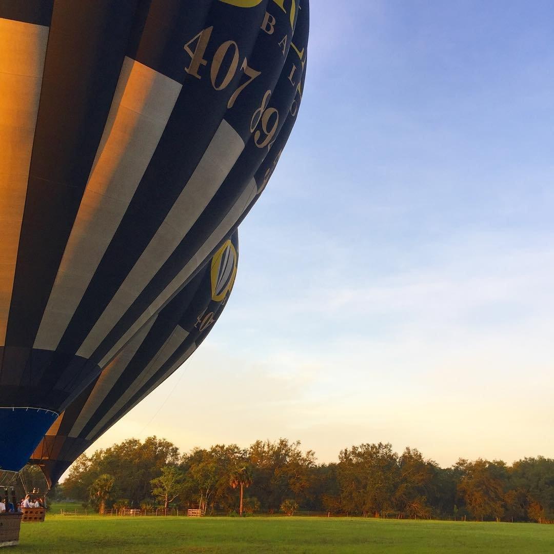 Hot air balloons in Kissimmee