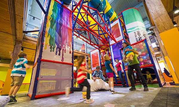 You'll find 26 different attractions and activities at Crayola Experience Orlando.