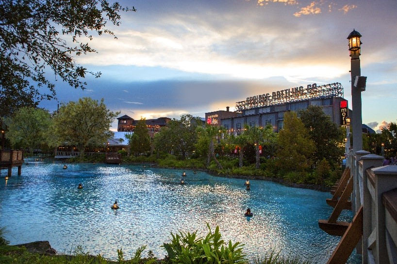 Disney Springs is home to a vast array of shops, restaurants, and entertainment.