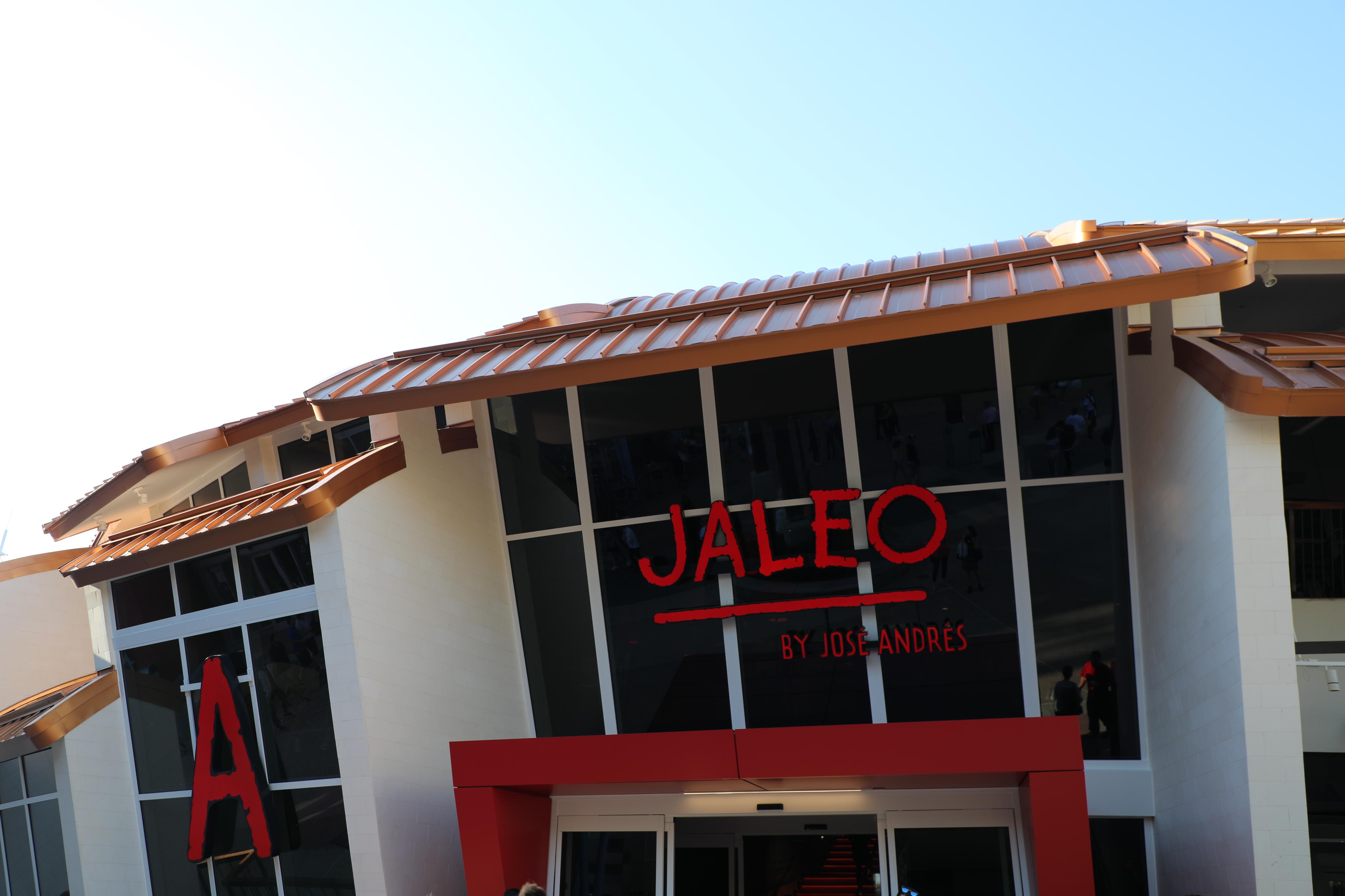 An exterior shot of the restaurant Jaleo