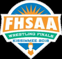 FHSAA Wrestling Finals Kissimmee 2018 Logo