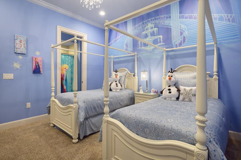 Themed Bedroom