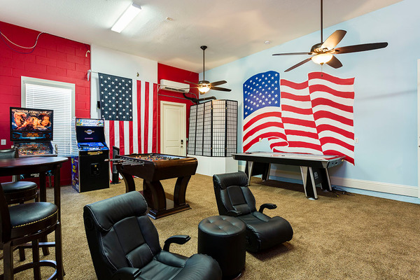 Custom Game Room