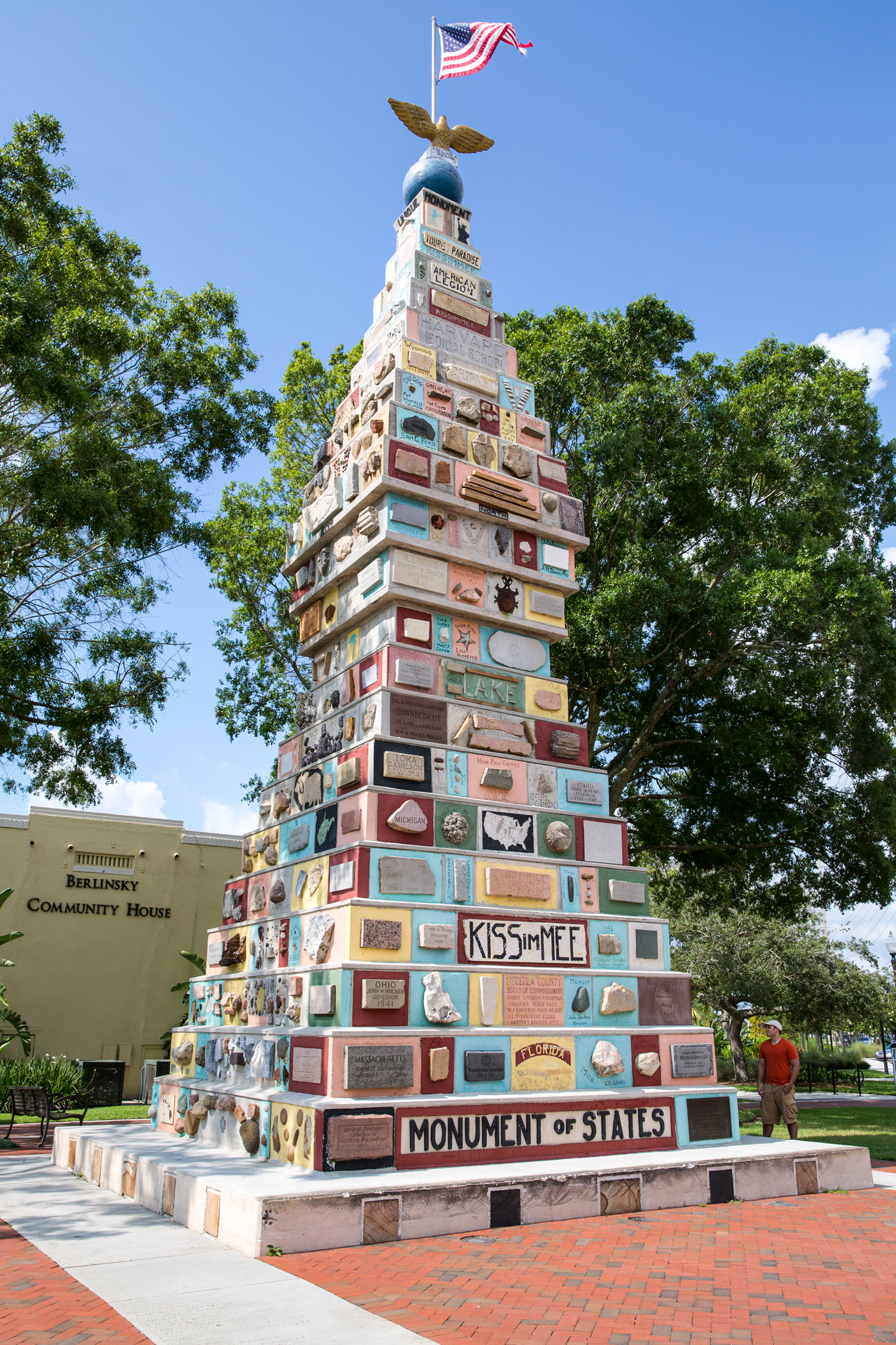 The Monument of States in Kissimmee, Florida