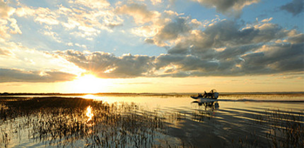 Lake Toho is one of the finest bass-fishing locations in Florida.