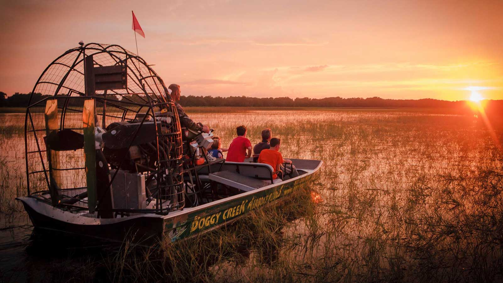 Spirit of the Swamp Airboat Rides   Experience Kissimmee