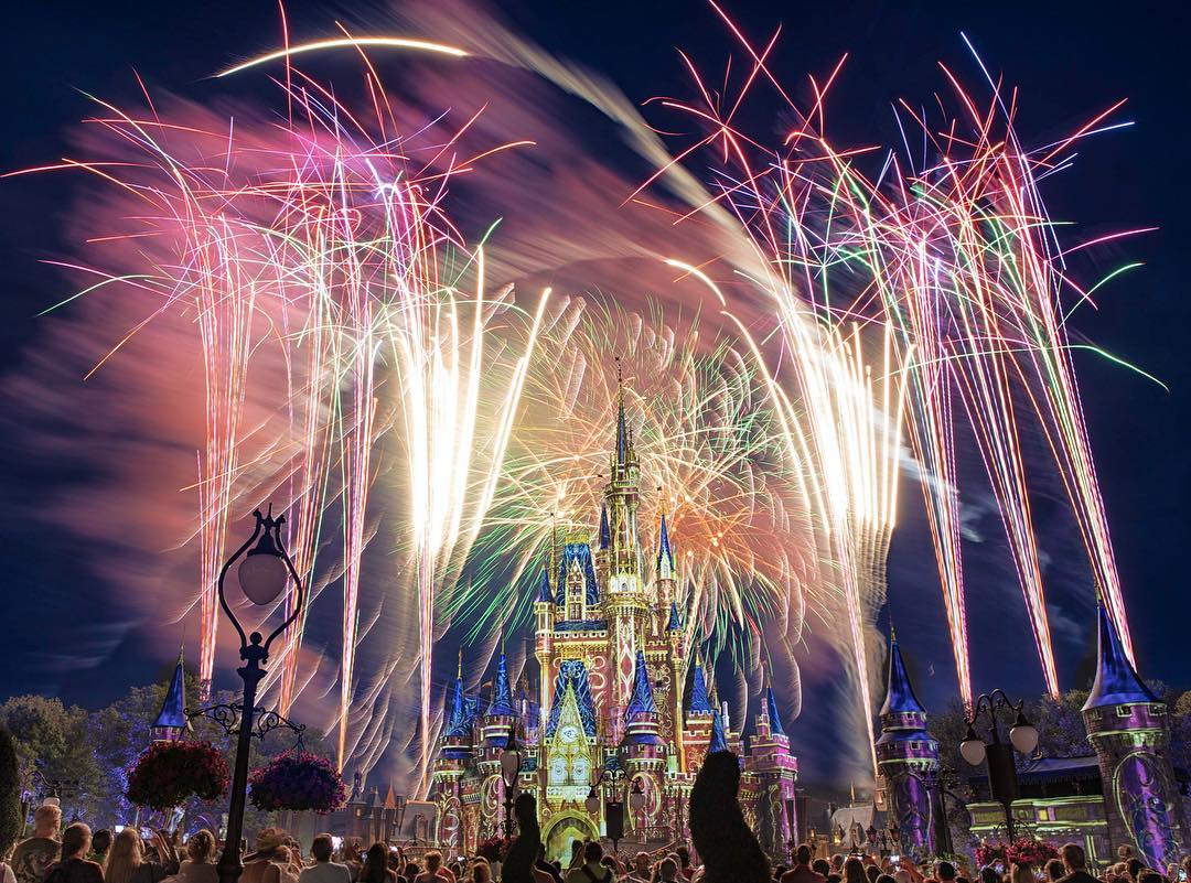 A Happily Ever After grand finale via @thehappiestinstaonearth.