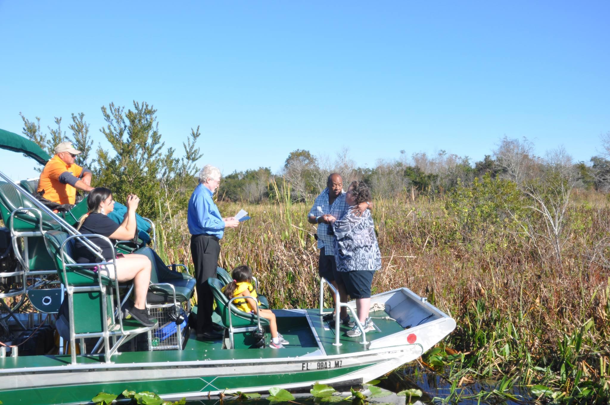 Marsh Landing Adventures Airboat
