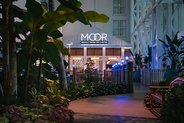 MOOR is the newest restaurant at Gaylord Palms.