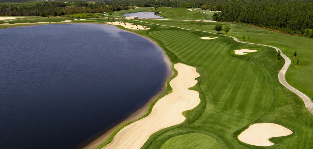 The 18th Hole of the National Course at the Omni Orlando Resort