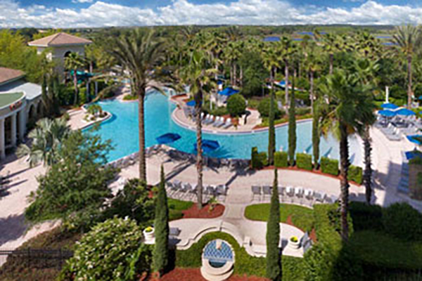 The Omni Orlando Resort at ChampionsGate offers 15 acres of virtually limitless activities.