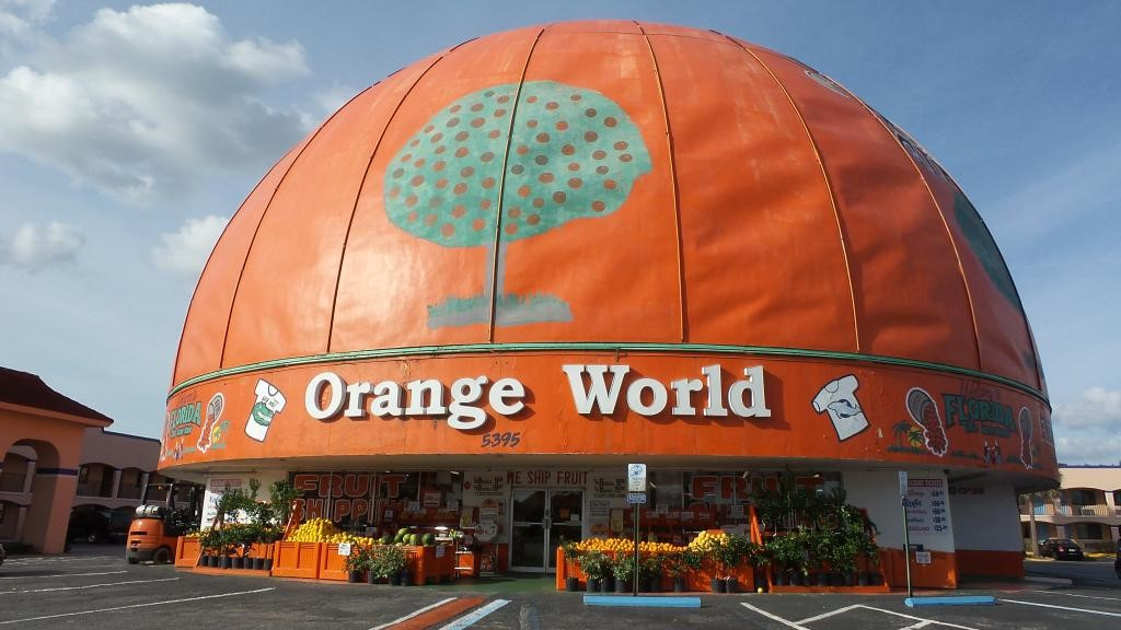 Get classic Florida souvenirs at Orange World.