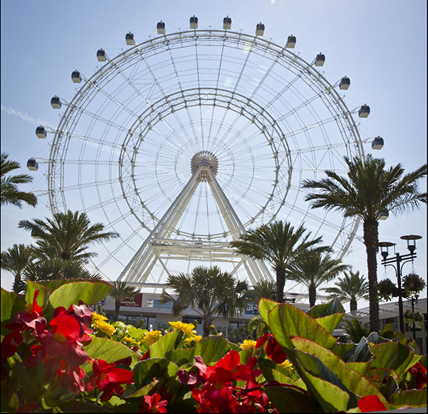 The Coca-Cola Orlando Eye is the centerpiece of I-Drive 360.