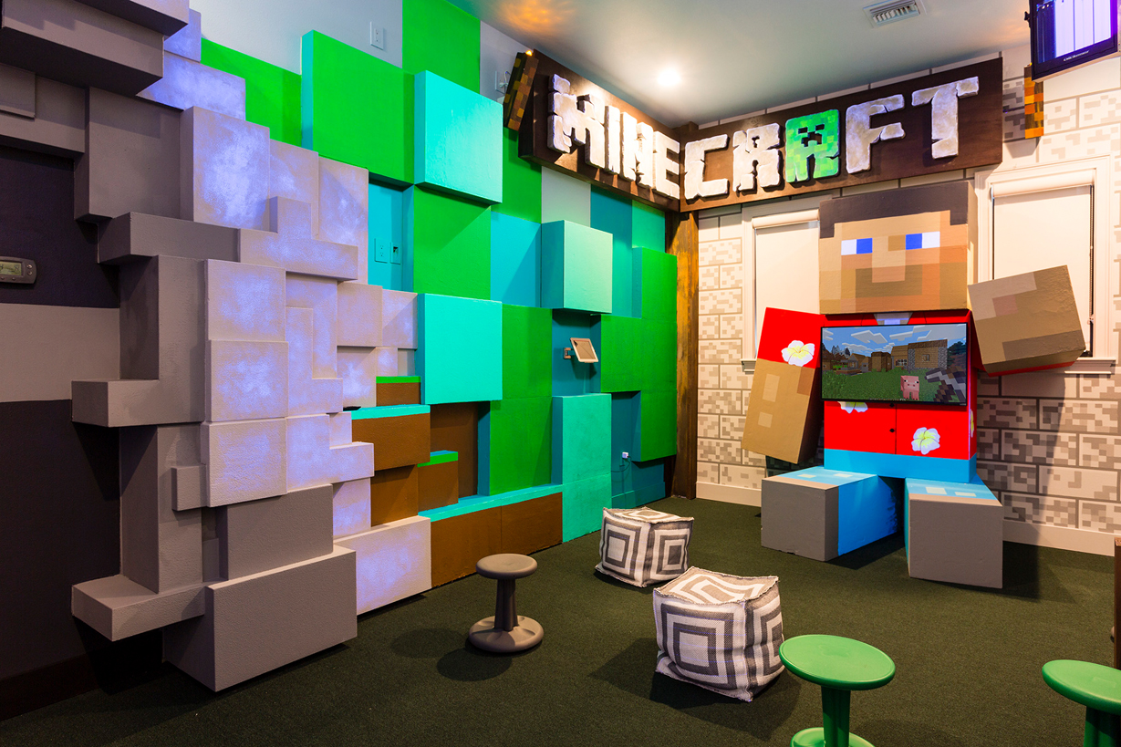 Minecraft Playroom