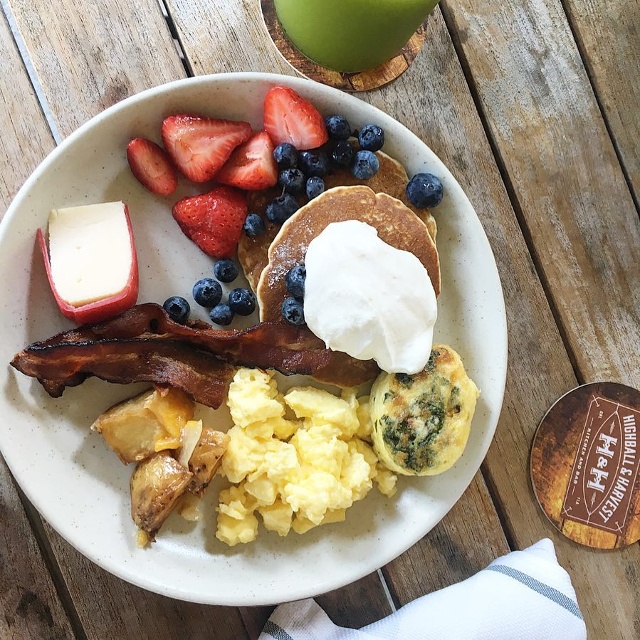 Pancakes at Highball & Harvest in Kissimmee, Florida