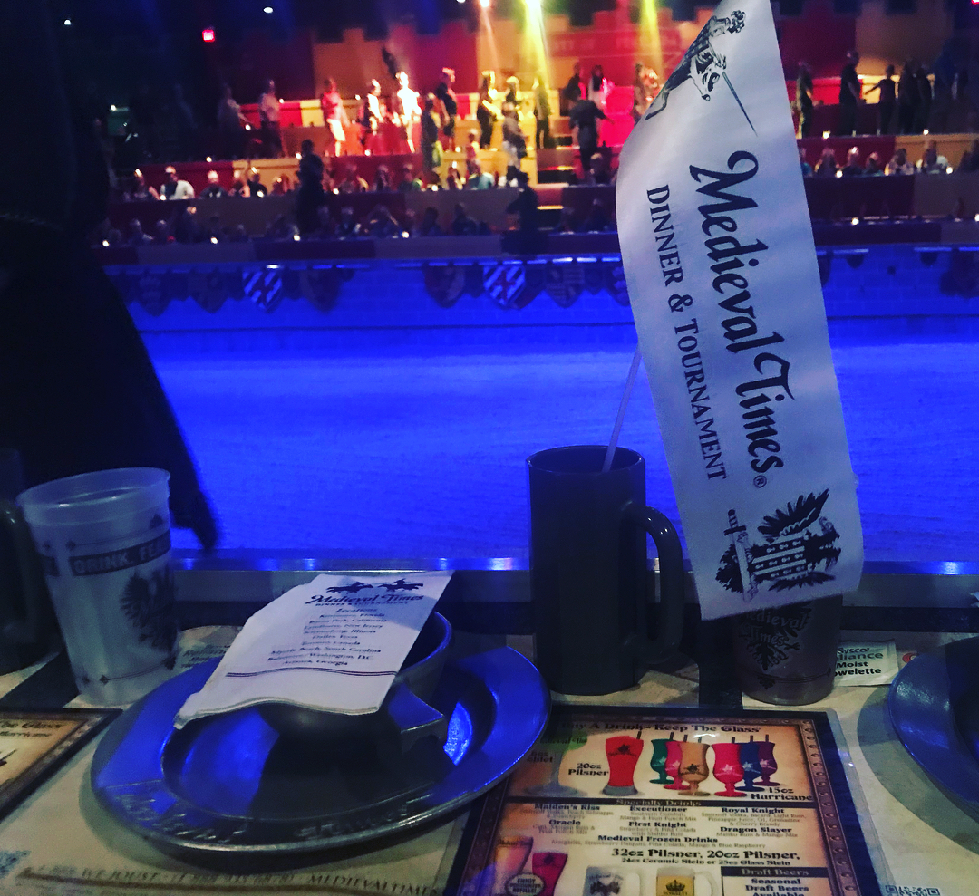 Dinner and a show at Medieval Times