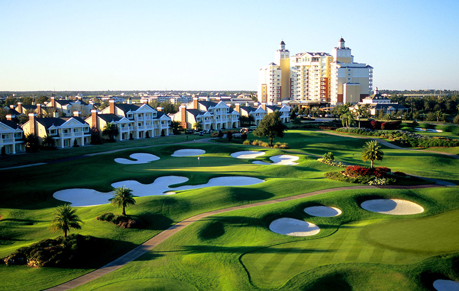Reunion Resort Golf Course in KIssimmee