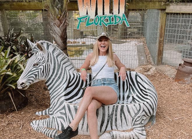 Angela Jones at Wild Florida