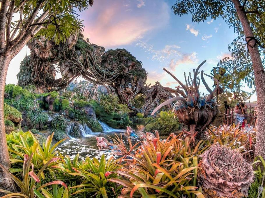 Pandora — World of Avatar in the early evening