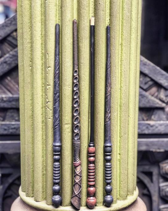 Four Harry Potter Wands