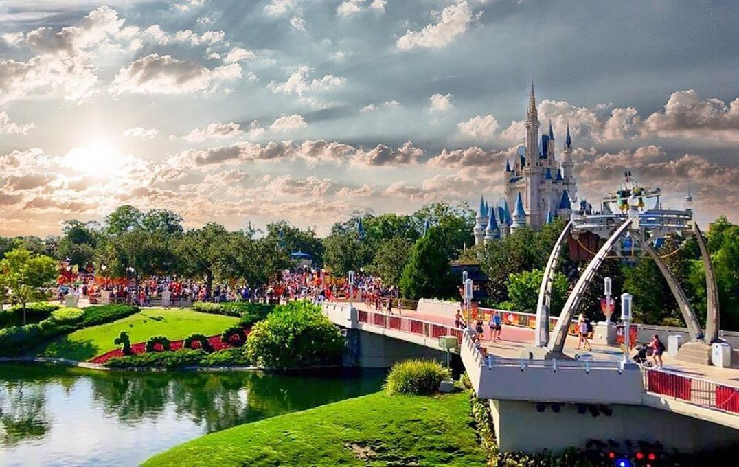 The Magic Kingdom near Kissimmee, Florida