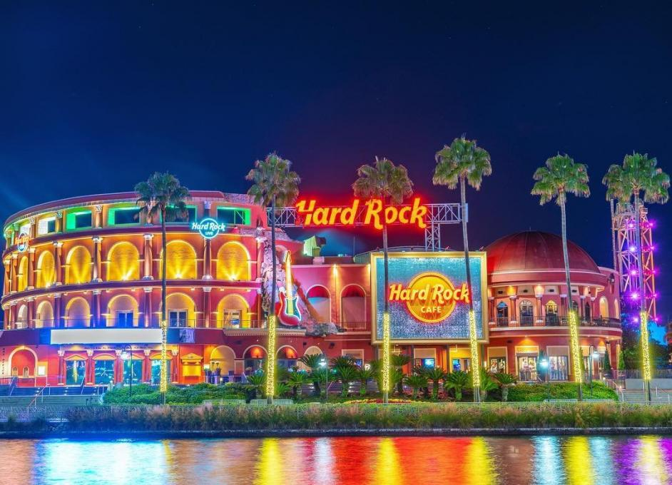 The Hard Rock Cafe at Universal CityWalk