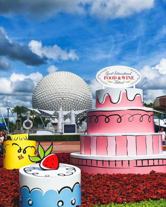 The Epcot Food and Wine Festival