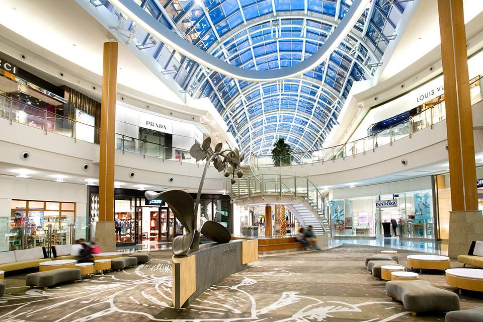 The architecture AND the designer names at The Mall at Millenia in Central Florida will impress you during a shopping excursion.