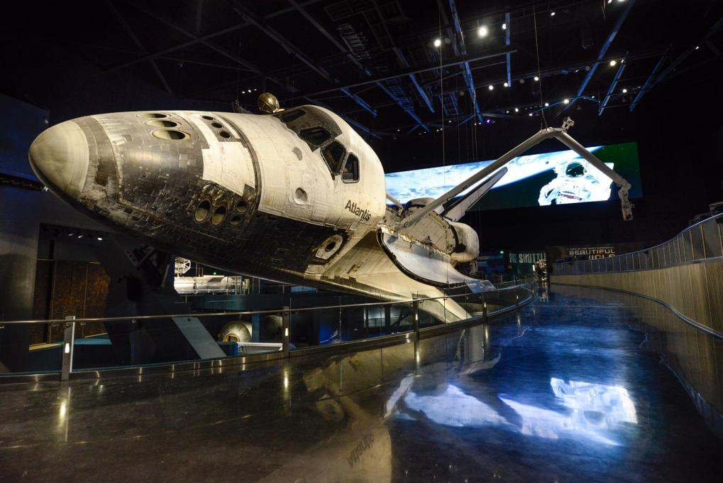 The Spaceship Atlantis at Kennedy Space Center