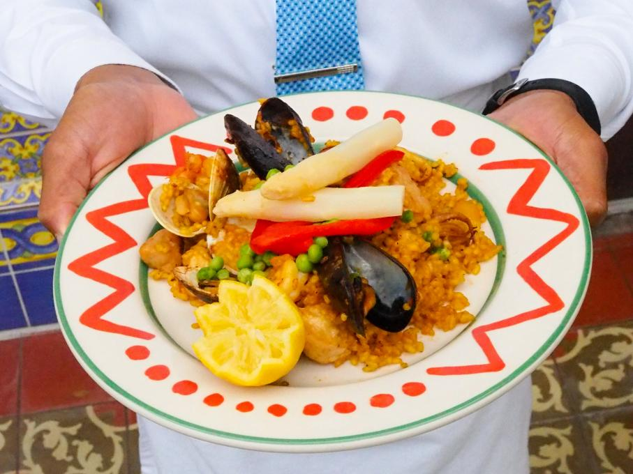 Paella at Columbia Restaurant, Kissimmee, Florida