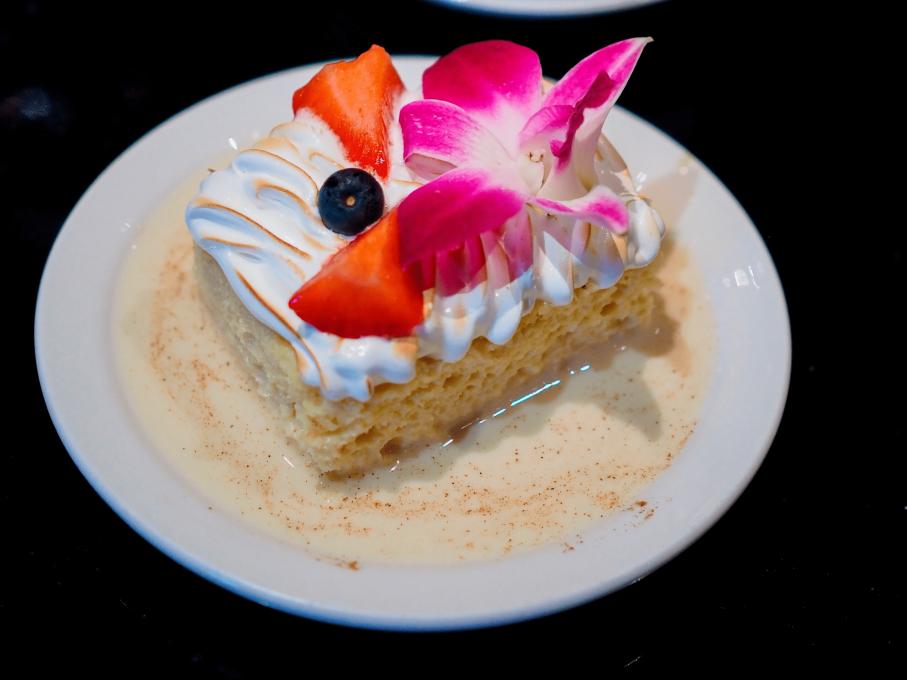 Tres Leches cake at Estefan Kitchen, Kissimmee, Florida