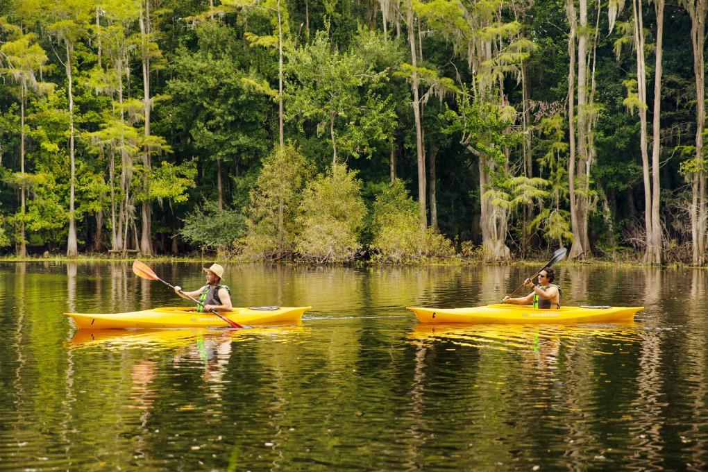 kayak, paddling center, shingle creek, kissimmee, florida