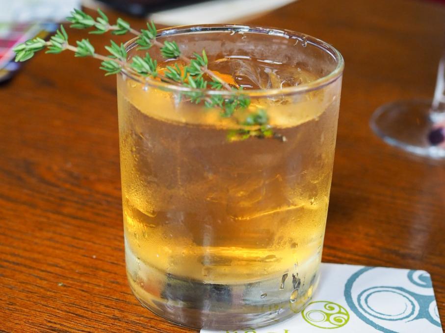 Whiskey cocktail at Raglan Road Irish Pub, Kissimmee