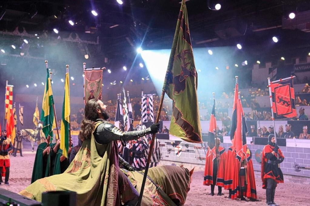 Knights compete at Medieval Times