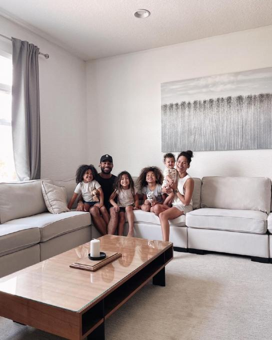 Dr. Laura and her family in their vacation home in Kissimmee, Florida