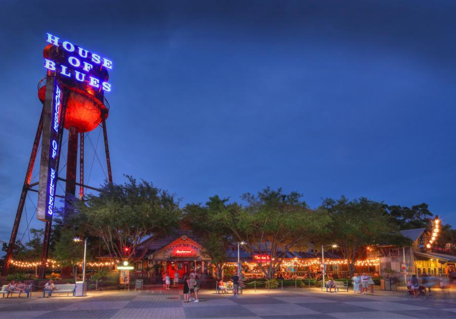 Exterior shot of House of Blues