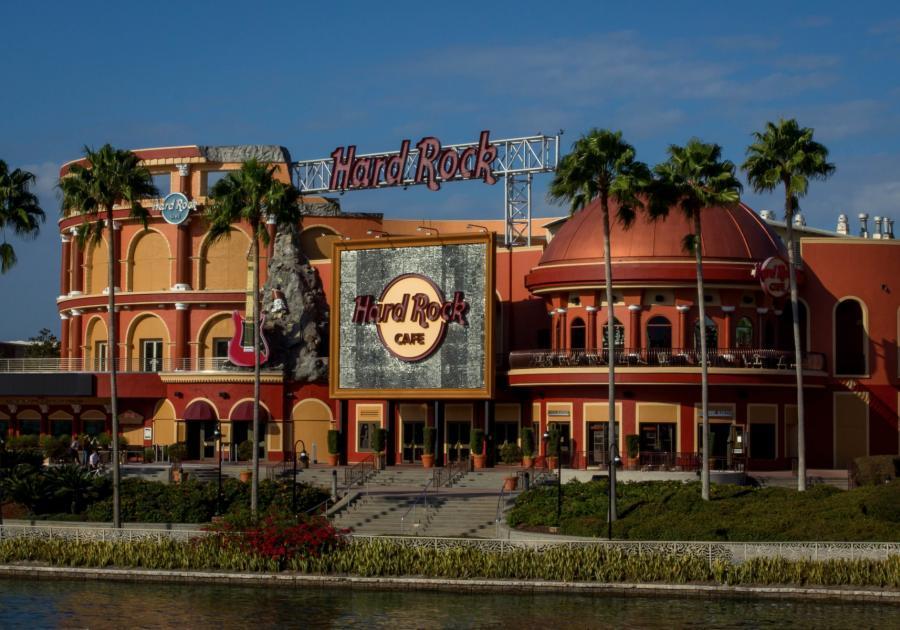 Exterior shot of Hard Rock Live Orlando