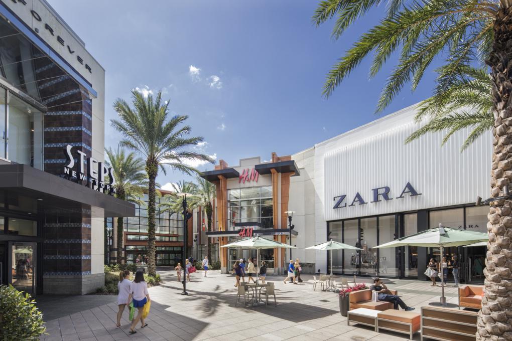 The Florida Mall exterior