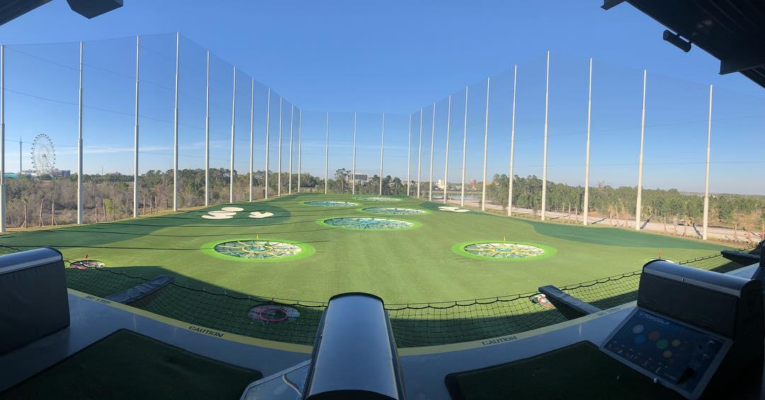 TopGolf, Kissimmee, Orlando, Florida, Super Bowl