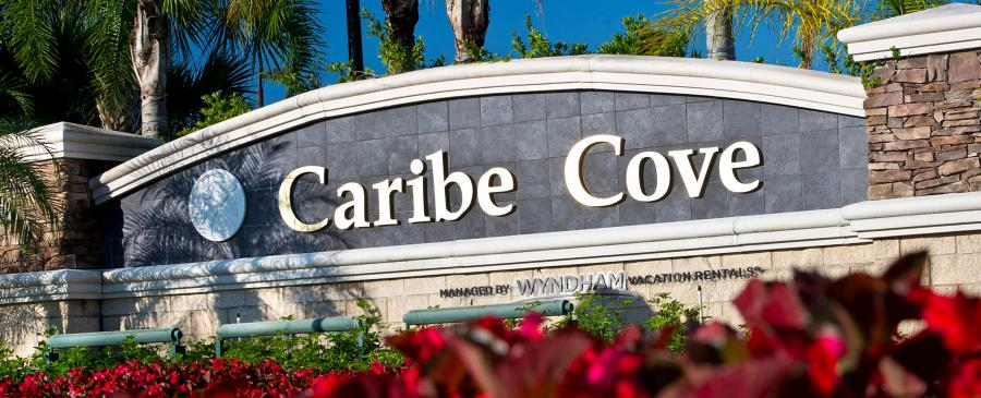 Caribe Cove Entrance