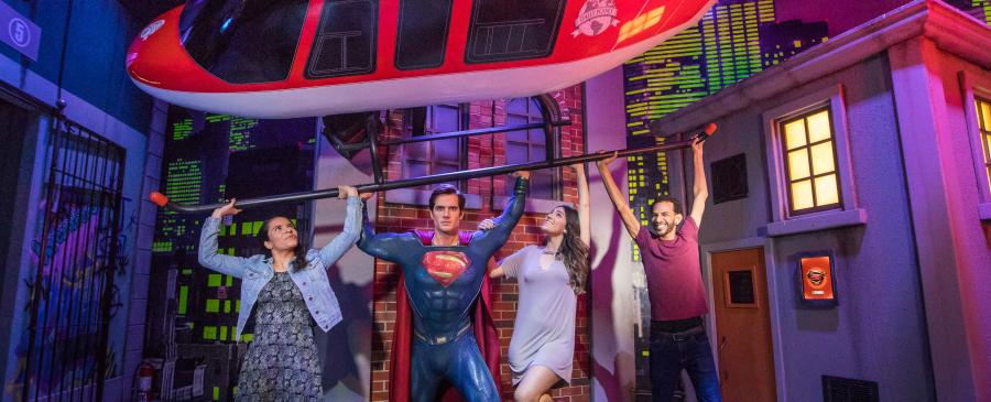 Superman at Madame Tussauds Orlando