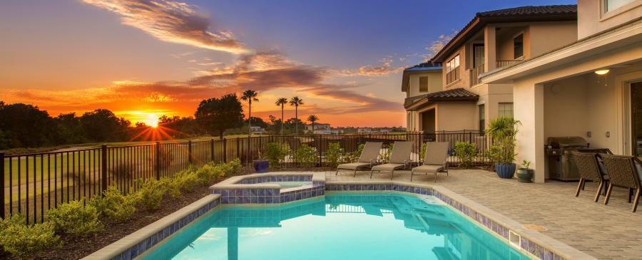 private pool homes near Orlando florida