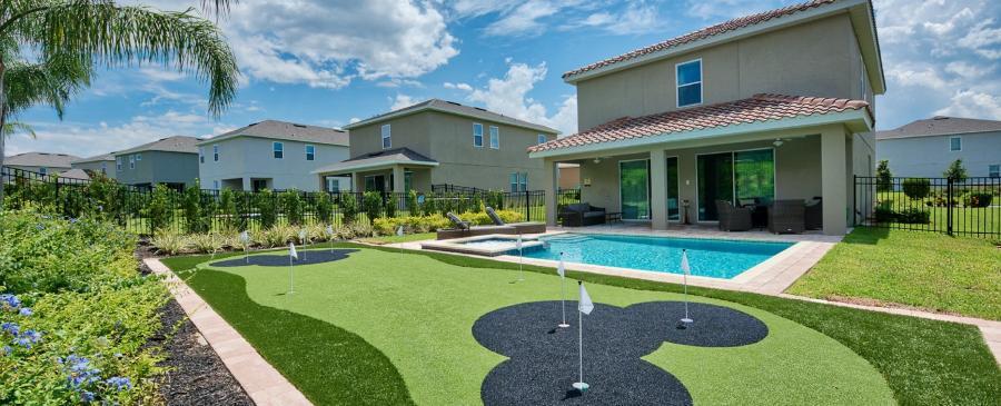 Encore Resort EC179 - Pool With Mini Golf Course