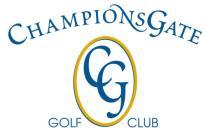 ChampionsGate Golf Club Logo