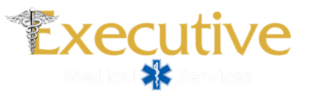 Executive Medical Services Logo White