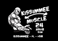 World Famous Kissimmee Muscle 24 Hour Gym Logo