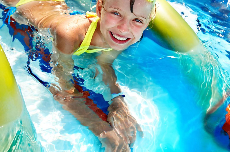 Pool Fun Waterslide
